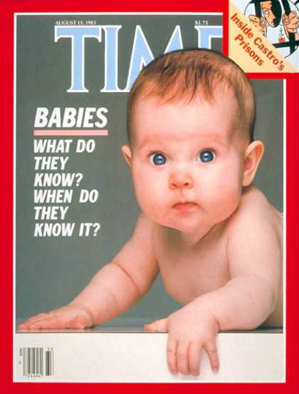 Time - What Do Babies Know? - Aug. 15, 1983 - Children - Health & Medicine