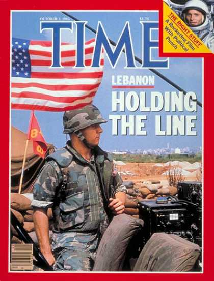 Time - Marines in Lebanon - Oct. 3, 1983 - Lebanon - Marines - Middle East