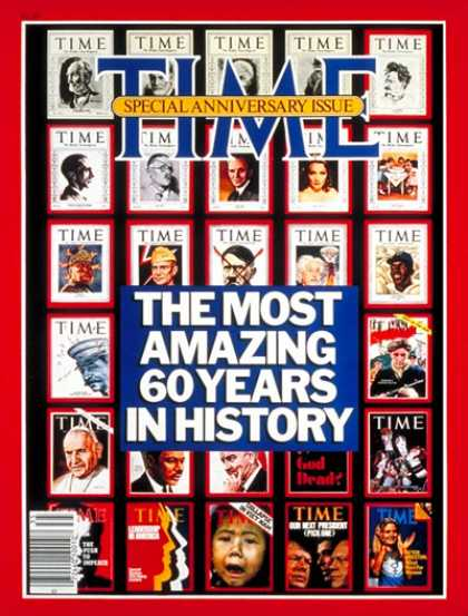Time - 60th Anniversary Issue - Oct. 5, 1983 - TIME - Anniversaries - Special Issues