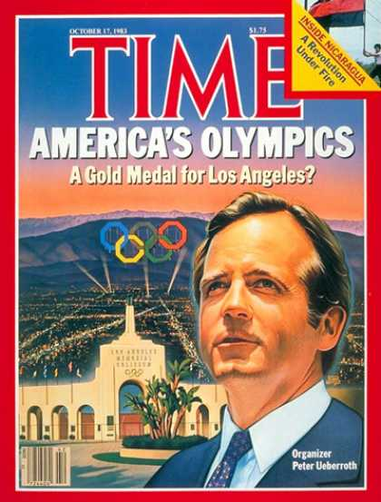 Time - Peter Ueberroth - Oct. 17, 1983 - Olympics - Los Angeles - Sports