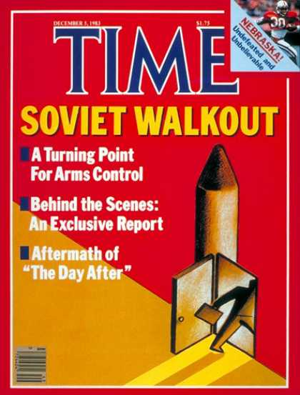 Time - Arms Control - Dec. 5, 1983 - Nuclear Weapons - Russia - Cold War - Weapons