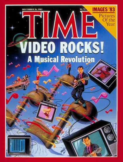 Time - Music Videos - Dec. 26, 1983 - Television - Rock - Music