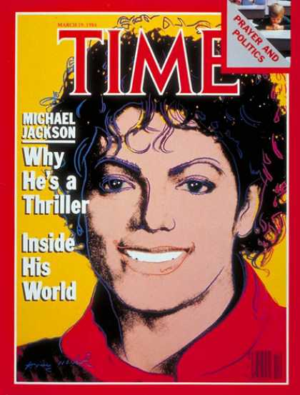 Time - Michael Jackson - Mar. 19, 1984 - Rock - Singers - Most Popular - Music