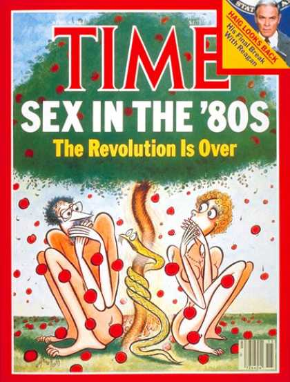 Time - End of the Sexual Revolution - Apr. 9, 1984 - Health & Medicine - Sex - Popular
