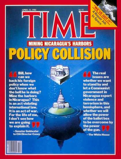 Time - Policy on Nicaragua - Apr. 23, 1984 - Latin America - Diplomacy