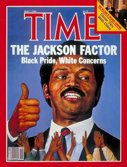 Time - Jesse Jackson - May 7, 1984 - Civil Rights