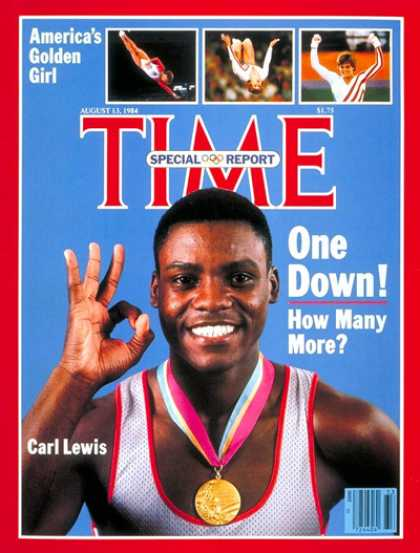 carl lewis track and field record