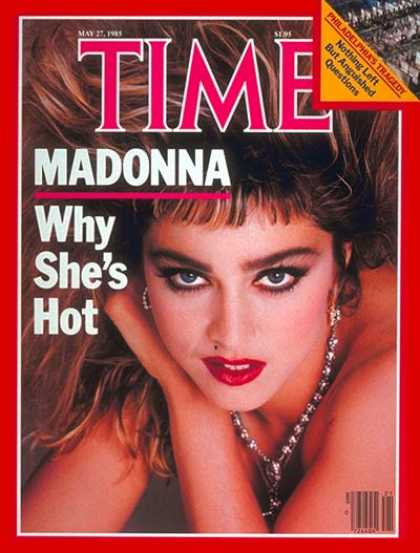 Time - Madonna - May 27, 1985 - Rock - Singers - Most Popular - Music