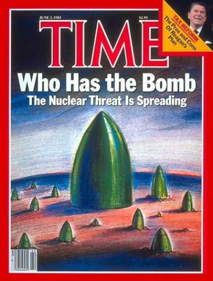 Time - Nuclear Threat - June 3, 1985 - Cold War - Nuclear Weapons - Atomic Bomb - Weapo