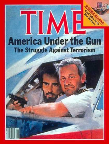 Time - Terrorism - July 1, 1985 - Airlines - Hostages - Aviation - Air Safety