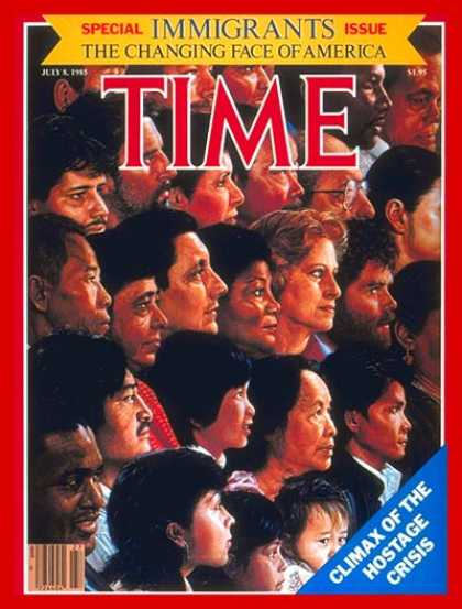 Time - Special Issue: Immigrants - July 8, 1985 - Special Issues - Immigration