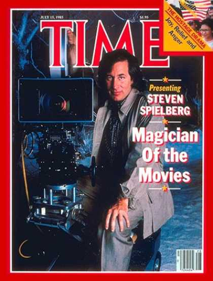 Time - Steven Spielberg - July 15, 1985 - Directors - Movies