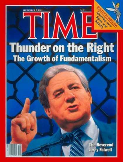 Time - Rev. Jerry Falwell - Sep. 2, 1985 - Religion - Christianity