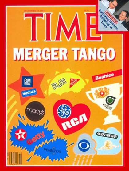Time - Corporate Mergers - Dec. 23, 1985 - Business