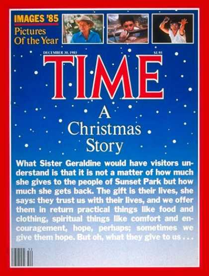 Time - Christmas in Brooklyn - Dec. 30, 1985 - Holidays - New York