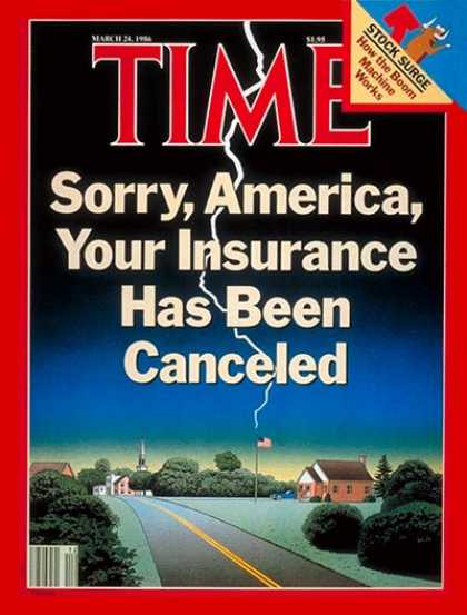 Time - Insurance - Mar. 24, 1986 - Business
