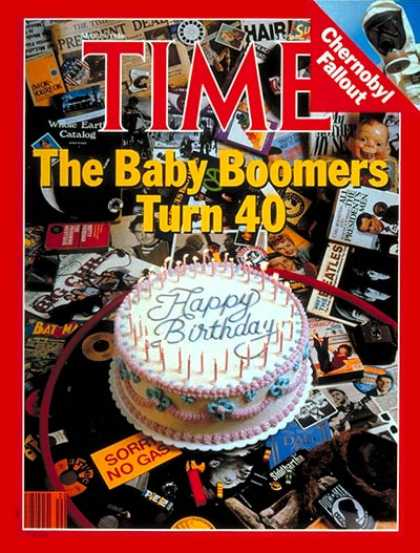 Time - Baby Boomers - May 19, 1986 - Society