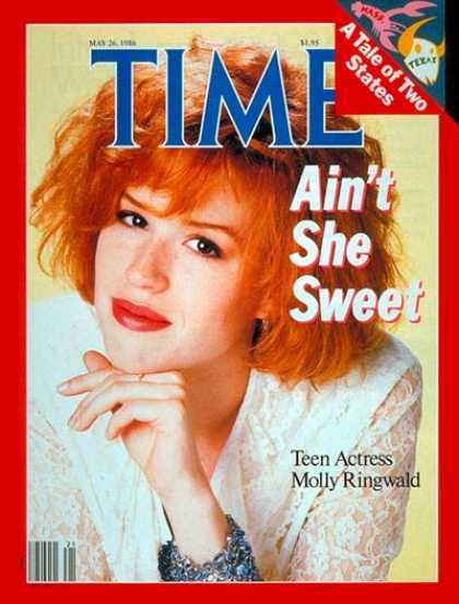 Time - Molly Ringwald - May 26, 1986 - Actresses - Movies