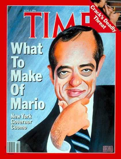 Time - Mario Cuomo - June 2, 1986 - Governors - New York - Politics