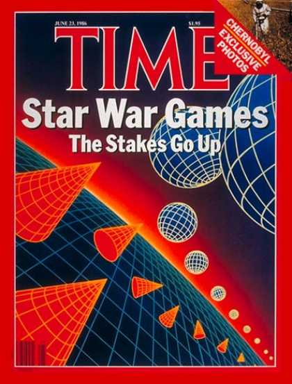 Time - Star Wars - June 23, 1986 - Nuclear Weapons - Cold War - Russia - Missiles - Wea