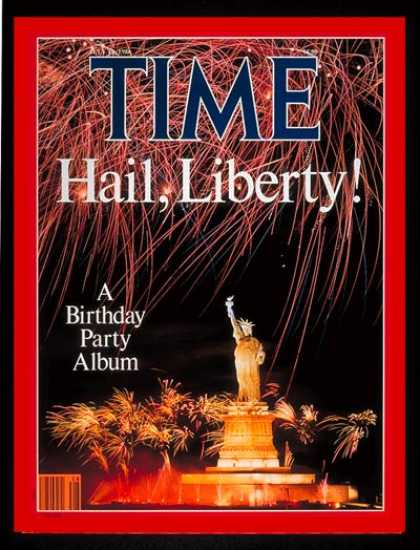 Time - Statue of Liberty - July 14, 1986 - History - New York - Most Popular