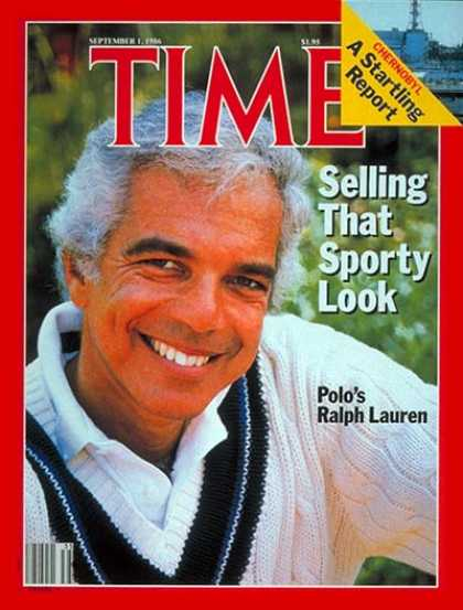 Time - Ralph Lauren - Sep. 1, 1986 - Fashion - Business