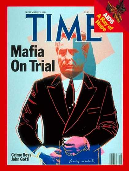Time - John Gotti - Sep. 29, 1986 - Organized Crime - Mafia - Crime - Law Enforcement