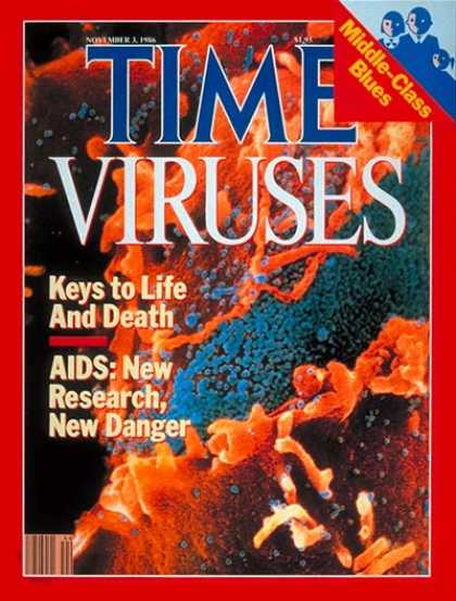 Time - Viruses - Nov. 3, 1986 - Illness & Disease - Disease - Health & Medicine - Medic