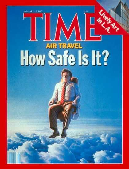 Time - Air Travel - Jan. 12, 1987 - Travel - Aviation - Safety - Air Safety - Airlines