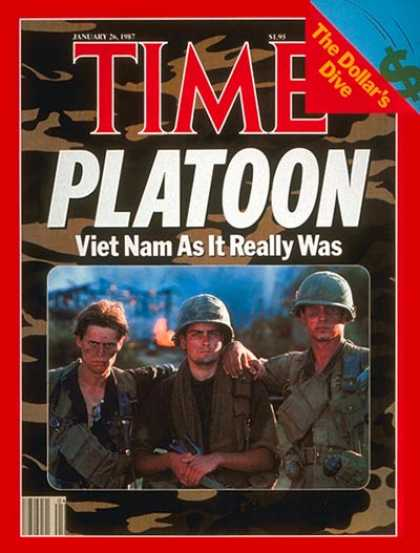 Time - Oliver Stone's 'Platoon' - Jan. 26, 1987 - Military - Movies