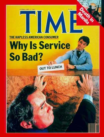 Time - The American Consumer - Feb. 2, 1987 - Economy - Consumers - Society - Business