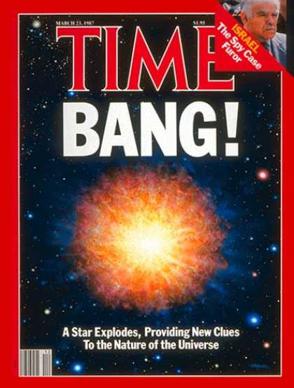 Time - The Nature of the Universe - Mar. 23, 1987 - Astronomy - Environment - Science &
