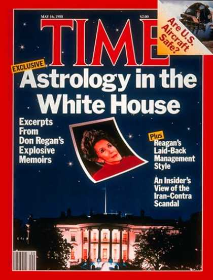 Time - Nancy Reagan and Astrology - May 16, 1988 - Nancy Reagan - First Ladies - Astrol