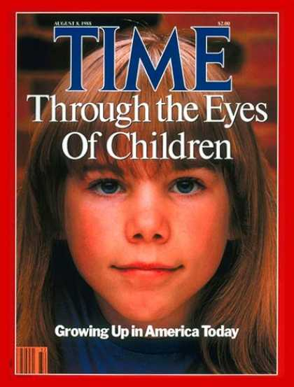 Time - Growing Up in America - Aug. 8, 1988 - Children - Society