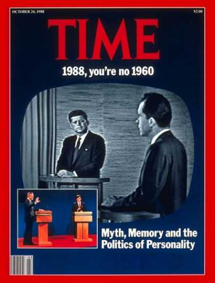 Time - Politics of Personality - Oct. 24, 1988 - Politics