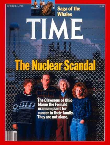 Time - Clawsons of Ohio - Oct. 31, 1988 - Nuclear Power - Energy