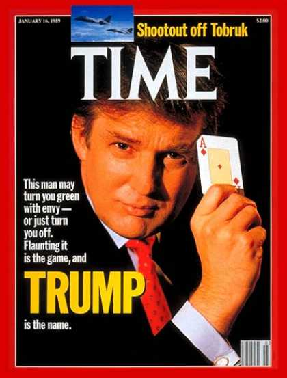 Time - Donald Trump - Jan. 16, 1989 - Real Estate - Business