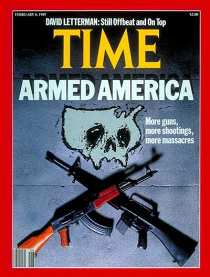 Time - Guns and Violence - Feb. 6, 1989 - Guns - Violence - Crime - Social Issues - Wea