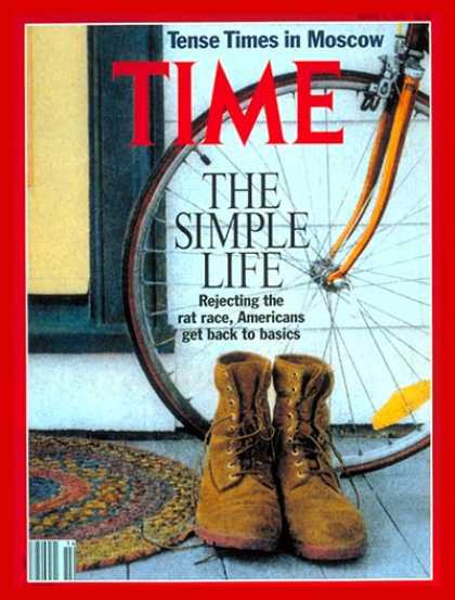 Time - The Simple Life - Apr. 8, 1991 - Society