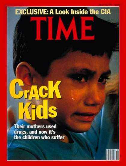 Time - Kids Addicted to Crack - May 13, 1991 - Drug Abuse - Children - Society - Crime