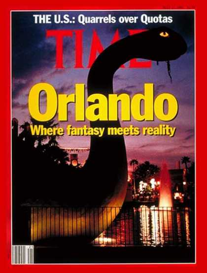 Time - The Magic of Orlando - May 27, 1991 - Florida - Disney - Business - Amusement Pa