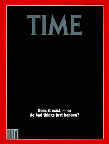 Time - The Nature of Evil - June 10, 1991 - Crime - Society - Violence