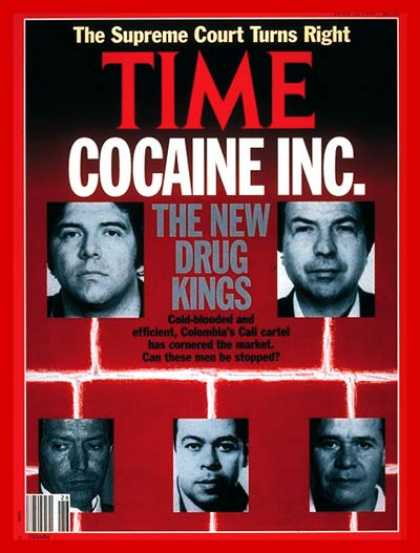 Time - Inside the Cocaine Business - July 1, 1991 - Latin America - Law Enforcement - C