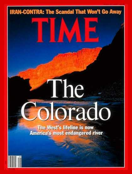 Time - The Colorado River - July 22, 1991 - Environment