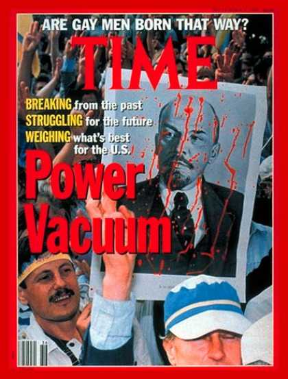 Time - The Soviet Union in Chaos - Sep. 9, 1991 - Russia