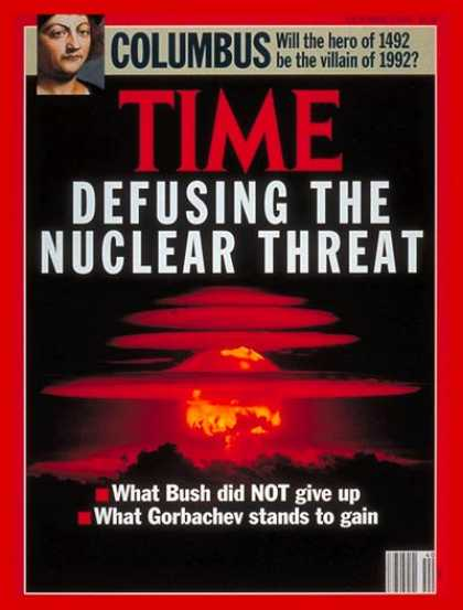 Time - A New Nuclear Balance - Oct. 7, 1991 - Nuclear Weapons - Weapons