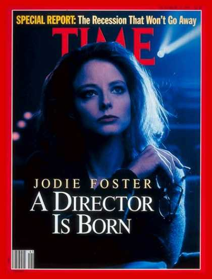 Time - Jodie Foster - Oct. 14, 1991 - Actresses - Movies