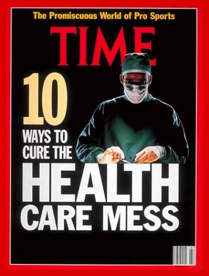 Time - The Health-Care Crisis - Nov. 25, 1991 - Medical Costs - Health & Medicine