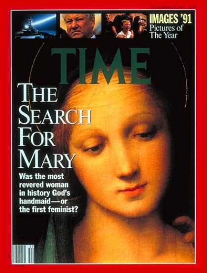 Time - Search for Virgin Mary - Dec. 30, 1991 - Mary - Religion - Catholicism - Christi