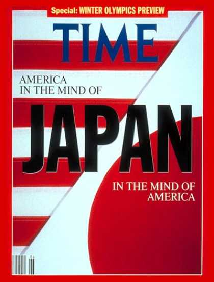 Time - Japan and America - Feb. 10, 1992 - Japan